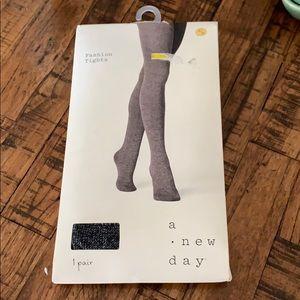 3/$10 NWT tights black gray